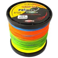 GSR PEfiber Braid 200lb 300M 12 Strand PE Fishing Line 5 Colour Down Rigger
