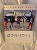 Vintage Bon Jovi Slippery When Wet Tour Book 86-87