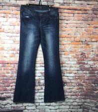 Milan Women's Low Rise  Flared Leg  Jeans  Size 11
