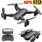 2021 NEW 4DRC F6 Foldable GPS RC Drone FPV 1080P HD Camera 5G WIFI +3 Battery