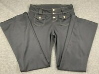 JOE BENBASSET WOMEN SIZE 30x32 BLACK STRETCH DRESS PANTS EUC