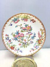 "Antique Minton Fine Bone China Hand Painted Floral 5 3/4"" Saucer/Vegetable Dish"