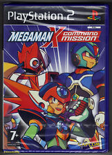 PS2 Megaman X Command Mission (2004), New & Sony Factory Sealed