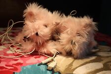Juicy Couture Pink Scottie Dog Puppy Stuffed Animal Plush Computer Mp3 Speakers