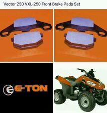 Eton 610143 812805 LH & RH Front Disc Brake Pads e-ton Vector 250 VXL-250 VinLRA