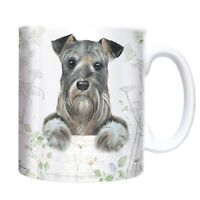 Cute SCHNAUZER Coffee / Tea Mug - A Great Gift for a Dog Lover - With Gift Box