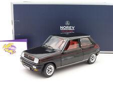 """Norev 185114 # Renault 5 Alpine Baujahr 1976 in """" schwarz """" 1:18 NEUHEIT !!"""