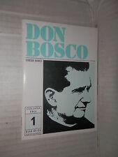 DON BOSCO Teresio Bosco Elle Di Ci 1988 Collana Eroi 1 religione libro di