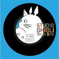 STUDIO GHIBLI 7inch BOX(BOX specification / 5 set / 7 inch single record)Repress