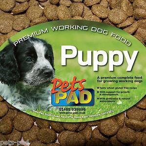 Premium Complete Small Puppy Food, Hypoallergenic, contains Probiotics, 15kg