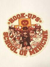 Hook Ups HOOK-UPS Vintage Skateboard Sticker, Original, Genuine Series 121981319