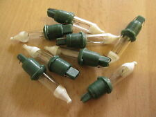8 Pifco Woolworths Noma G1 Xmas Fairy Light Spare Bulbs, 6v Push In Fuse Lamps