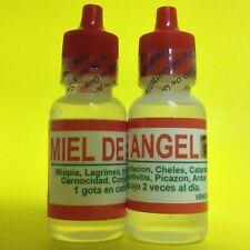2 ANGEL HONEY EYE DROPS 0.5 OZ / MIEL DE ANGEL GOTAS