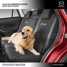 Genuine Mazda Cx-5 KE Rear Seat Covers Black Accessory Part KE12ACSCR
