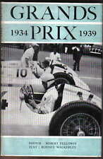 Grands Prix 1934-39 by Walkerley Pub. MRP 1950 Cars Circuits Driving Results +