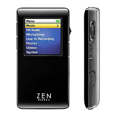 Creative Zen Neeon 2 2GB BlackSilver MP3 Player FM Radio Voice Recorder