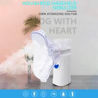 Adult Kids Handheld Portable Ultrasonic Nebulize Inhaler Kits Asthma Machine
