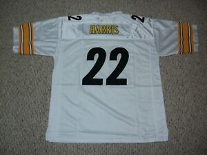 NAJEE HARRIS Unsigned Custom White Pittsburgh Sewn New Football Jersey Sze S-3XL