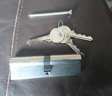 Mila Euro Cylinder Lock 50/50 (100) Nickel Finish