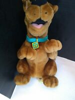 "SCOOBY DOO, Cartoon Network, Equity Toys, Vintage 14"" Plush Stuffed Animal"