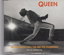 Queen-We Will Rock You/We Are The Champions cd maxi single
