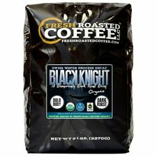 Black Knight Decaf Organic Coffee, Swiss Water Process, Fresh Roasted Coffee LLC