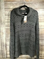 Levis Mens Shawl Collar Navy and Grey Sweater XXL - NEW