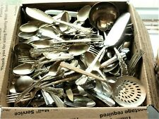 New Listing20+ Pounds of Mixed Silverplate Flatware Silverware, Some very tuff Patterns