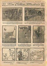 Trenches Feldgrauen Fortifiés Bataille d'Artois Football Royal Navy WWI 1915