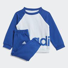 NEW adidas Kids Linear Fleece Jogger Set