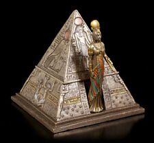 égyptien Pyramides Coffret - Figurine décorative VERONESE Égypte Boîte de dose