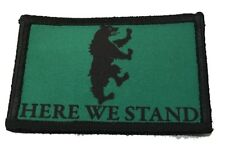 House Mormont Sigil Game of Thrones Morale Patch Tactical Military Army Badge