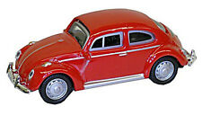 VW Beetle, red - 1:87 / H0 Gauge - Model Power (19172) - Defect display box!