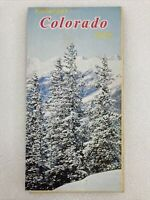 Colorful Colorado 1962 Highway Map State Department Of Highways B34