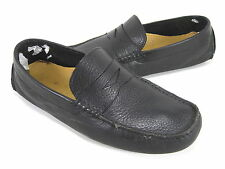 """COLE HAAN MEN'S """"HOWLAND"""" PENNY LOAFER BLACK TUMBLED LEATHER US SZ 7 MEDIUM (D)M"""