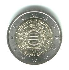 Francia 2012 - 2 Euro Comm - 10 ° anniversario Intro di Monete & Banconote (UNC)
