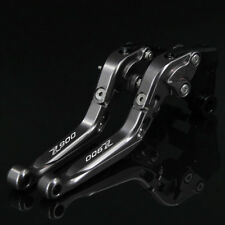 Palanca de embrague de freno extensible y plegable ajustable CNC aluminio para Kawasaki Z900 Z 900 2017 2018 2019