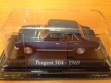 "DIE CAST ""PEUGEOT 504 - 1969"" SCALA 1/43 RBA AUTO INDIMENTICABILI"