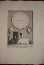 Piranesi stampa antica Mausoleo S. Elena old print kupferstich 1756 pianta plan