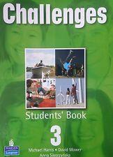 """M.Harris, D.Mower, A.Sikorzynska """"CHALLENGES Student's Book 3"""""""
