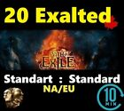 20 Exalted Orb - STANDARD EU/NA Path of Exile Standart  - POE Softcore League