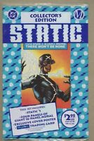 Static #1-1993 nm+ 9.6 Factory Poly Bagged / Milestone Denys Cowan