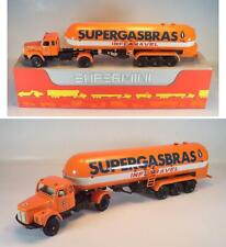 Super Mini arpra Brazil 1/50 scania l 111 gas Tank lainadmisibilidad. super gas bras OVP #1663