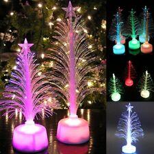 Mini Christmas Tree Home LED Lights Up Colorful Xmas Decoration Free Shipping