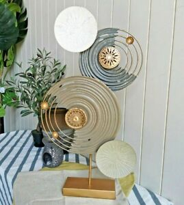 Metal Table Art Table Wall Art  Decor Indoor & Outdoor Decor
