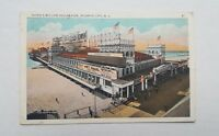 Vtg Postcard Young's Million Dollar Pier Atlantic City New Jersey NJ 1910