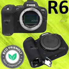 Canon EOS R6 Silicone Protective Case Camera Body Skin Cover (Black) DN