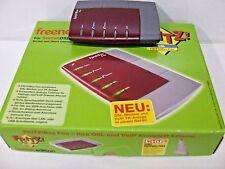 Fritz! BOX Fon/AVM n. 2000 1661 AVM ADSL VOIP switch telefonico completo di scatola originale