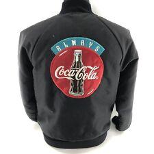 Vintage HARTWELL COCA COLA Medium Bomber Varsity Quilted Button Jacket R1B