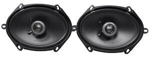 "Pair MB QUART FKB168 6x8"" 200 Watt Car Stereo Coaxial Speakers"